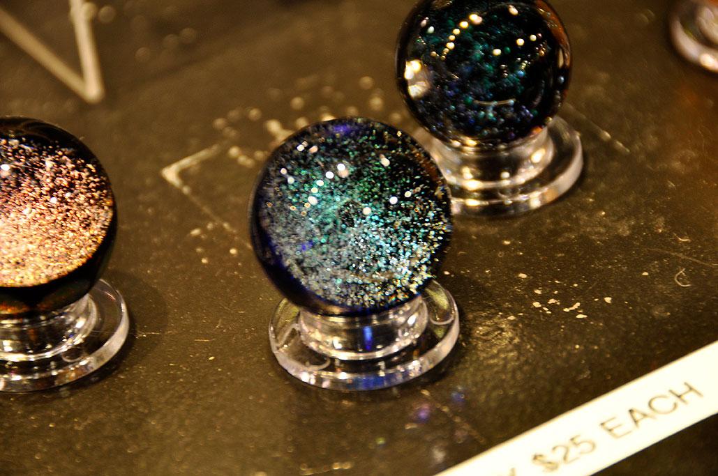 ... glass globe ...