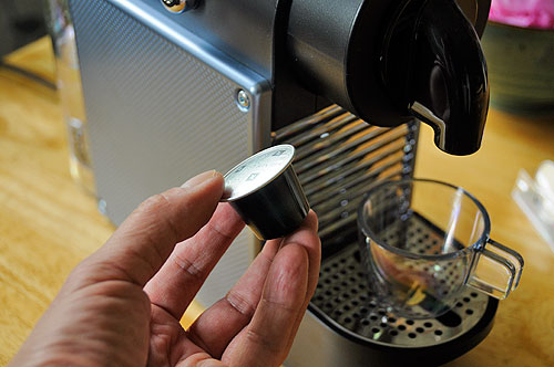 nespresso pod machine instructions