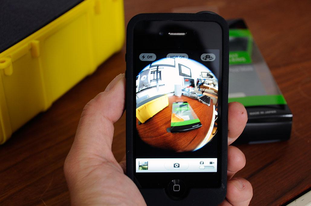Pixeet Panorama Kit: 180º Fisheye Lens | RainyDayMagazine