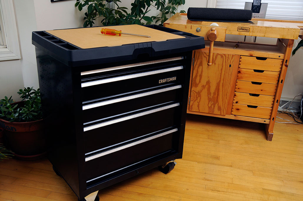 craftsman rolling tool box. rolling craftsman project center which is a hybrid between tool cabinet box