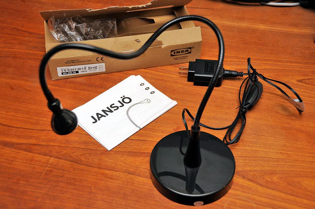 Beskrajan Jansjo Lampa Ikea, Jansjo Desk Work Led Lamp