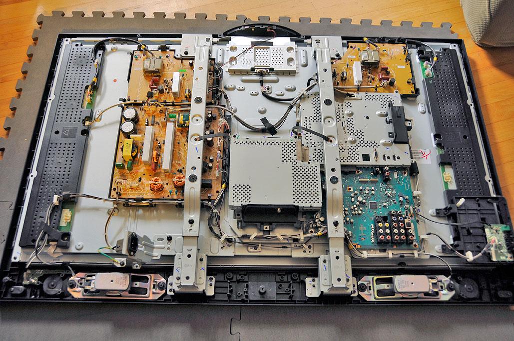 Sony Bravia 46 U2033 Lcd Tv Teardown