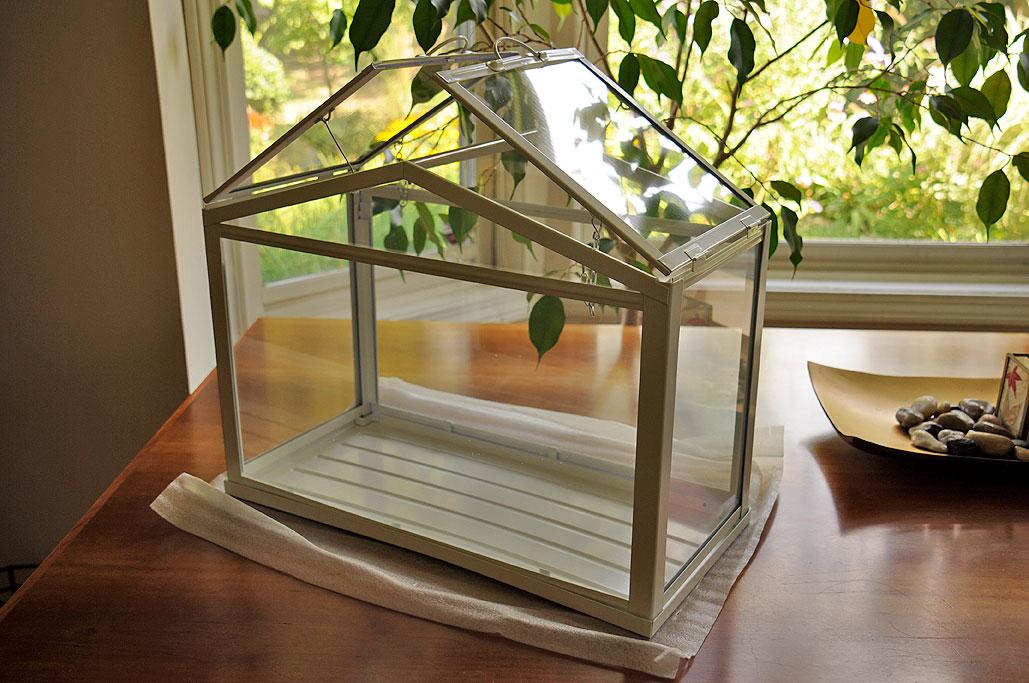 Ikea Socker Greenhouse Rainydaymagazine