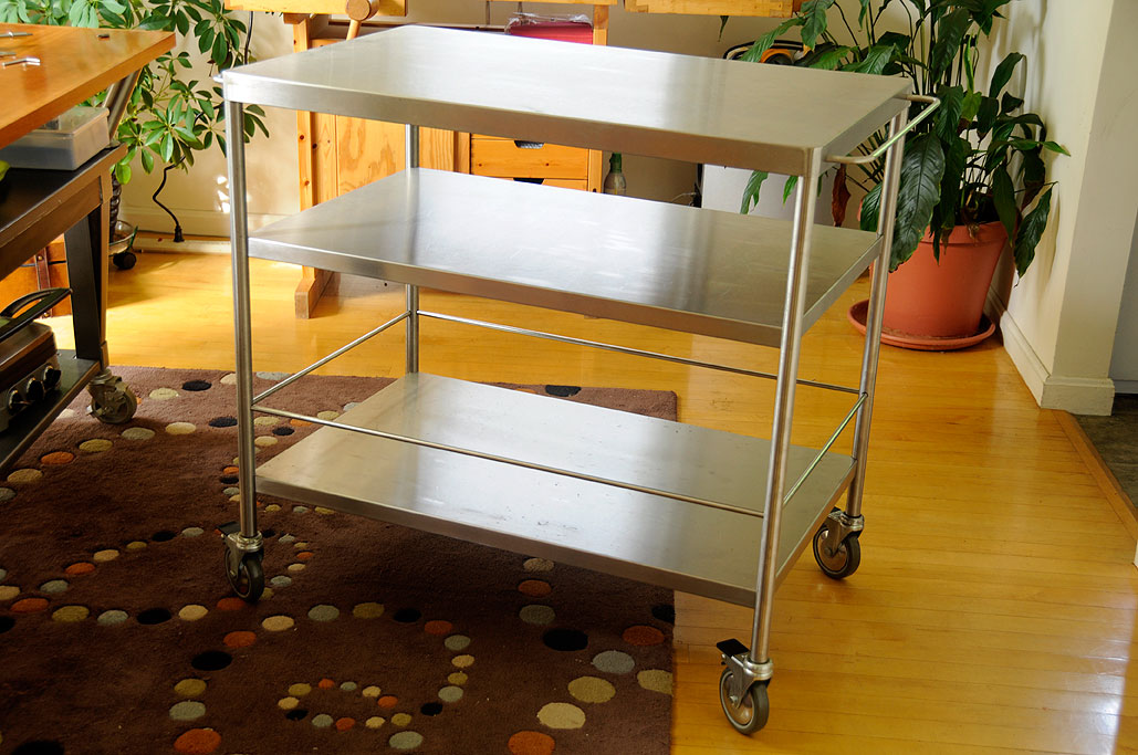 Elegant Now That We Have The IKEA FLYTTA Cart Assembled, We ...