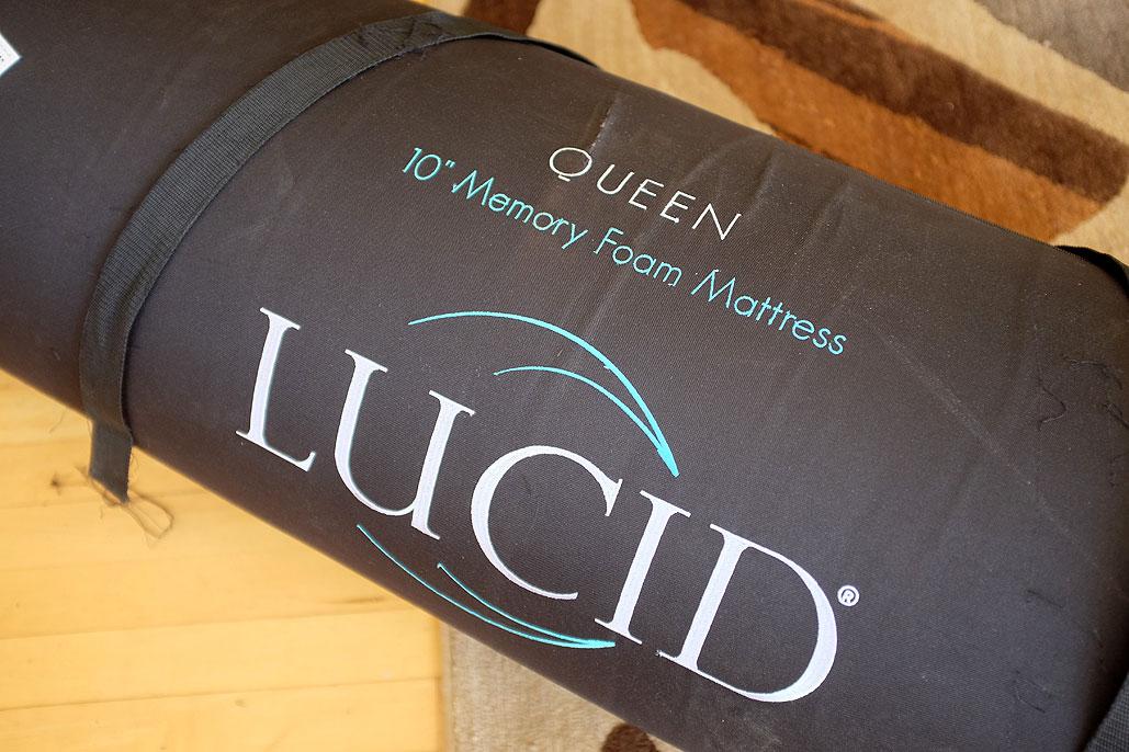 Lucid Memory Foam Mattress Unpacking Rainydaymagazine