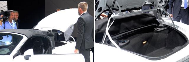 PorscheSpyderTopInTrunk