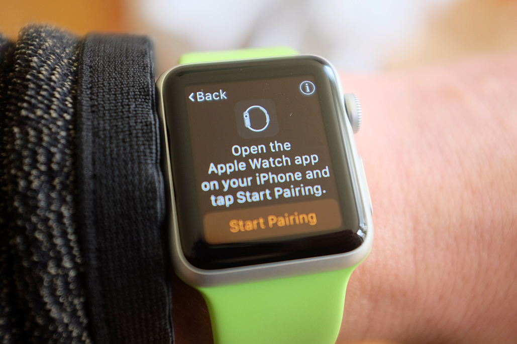 how to setup apple watch without update