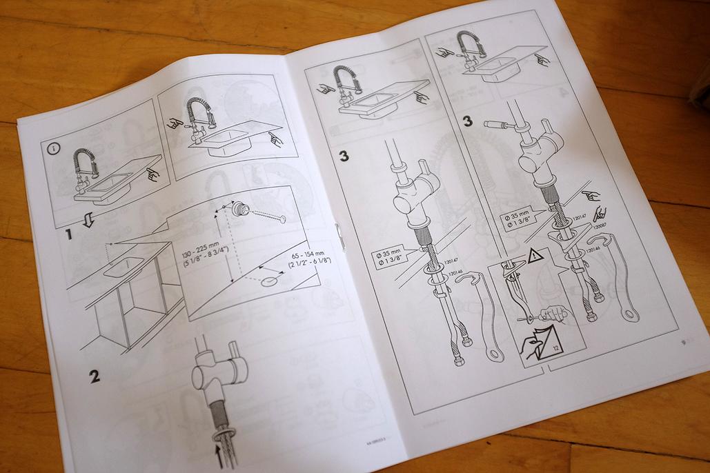 Ikea Hjuvik Faucet Installation Rainydaymagazine